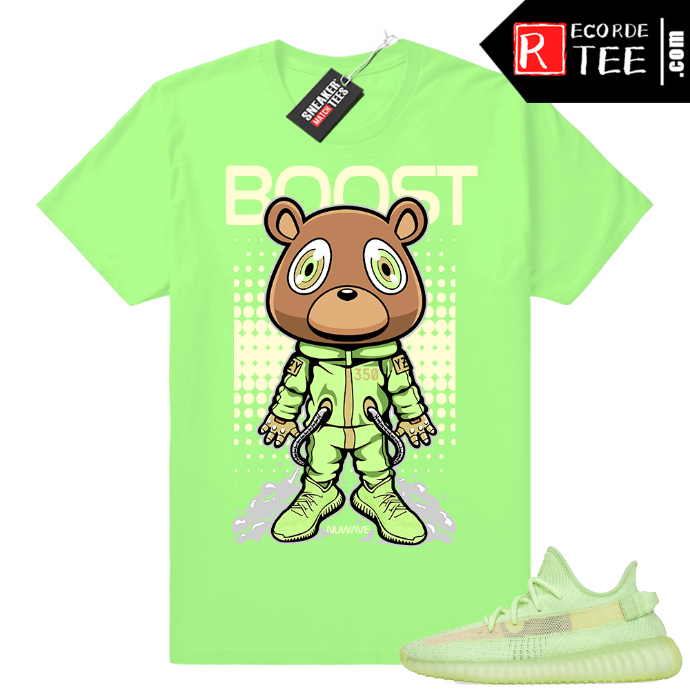 Yeezy Glow | Space Bear Boost | Bright Green Shirt
