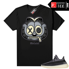 Load image into Gallery viewer, Yeezy 350 V2 Carbon – Sneaker Match Tees – Misunderstood Garfield – Black