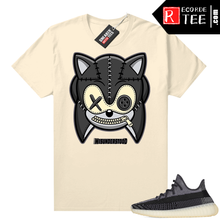 Load image into Gallery viewer, Yeezy 350 V2 Carbon – Sneaker Match Tees – Misunderstood Hedgehog – Cream
