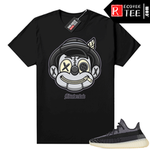 Load image into Gallery viewer, Yeezy 350 V2 Carbon – Sneaker Match Tees – Misunderstood Pinocchio – Black