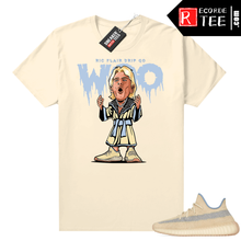 Load image into Gallery viewer, Yeezy 350 V2 Linen shirt Butter Ric Flair Drip
