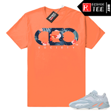 Load image into Gallery viewer, Inertia Yeezy 700 | CEO Floral | Hyper Orange Shirt