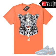 Load image into Gallery viewer, Inertia Yeezy 700 | NuWave Leopard | Hyper Orange Shirt