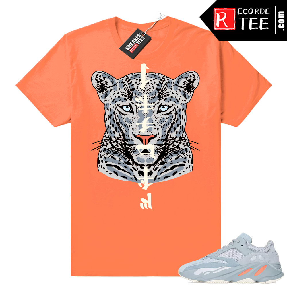 Inertia Yeezy 700 | NuWave Leopard | Hyper Orange Shirt