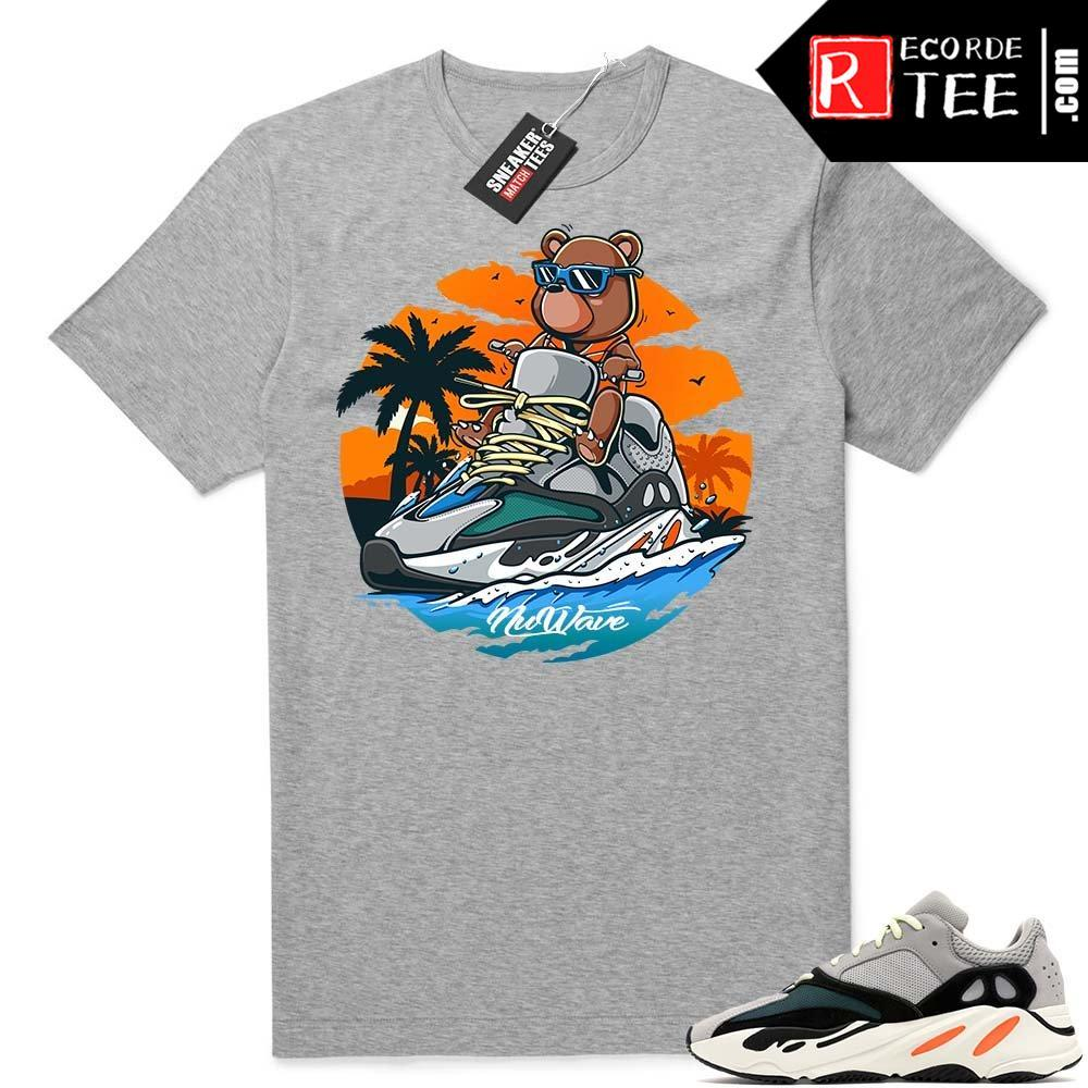 Yeezy Bear Wave Runner Jetski | Heather Grey Tee