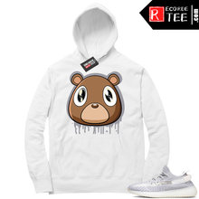 Load image into Gallery viewer, Static Yeezy 350 | Yeezy Bear Drip | White Hoodie