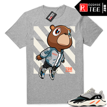 Load image into Gallery viewer, Yeezy Bear shirt | Wave Runner Yeezy Bear | Heather Grey Tee