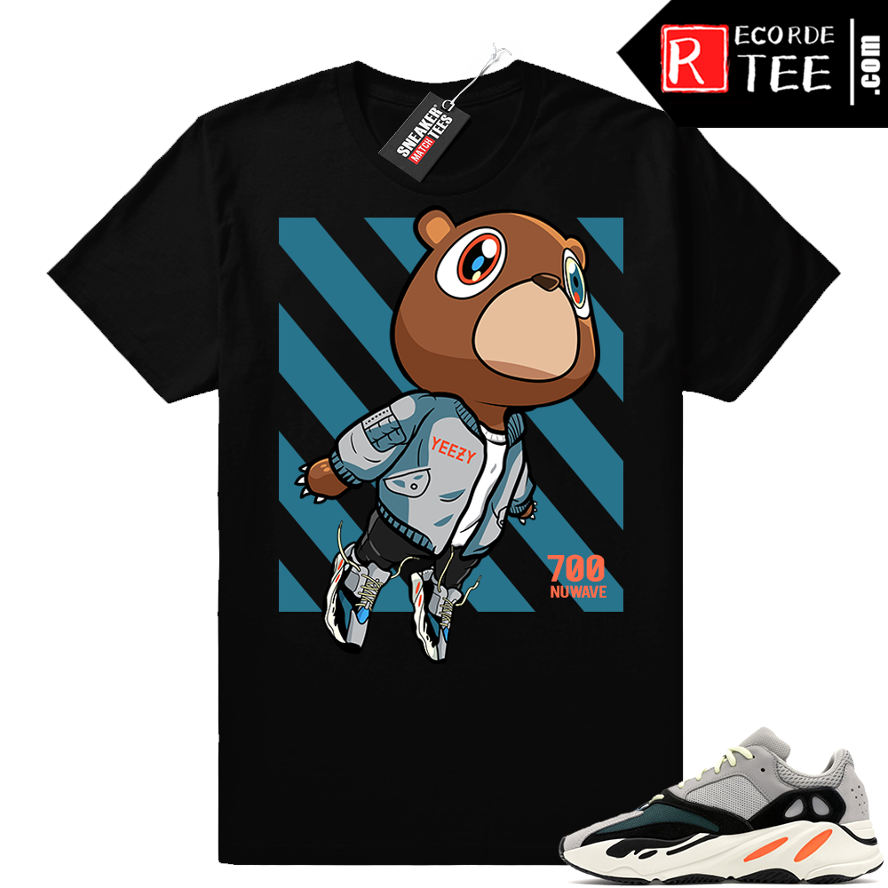 Yeezy Bear shirt | Wave Runner Bear V2 | Black shirt