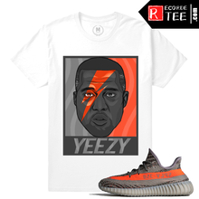 Load image into Gallery viewer, Yeezy Boost 350 V2 Beluga Match | Yeezy Bowie | White T shirt