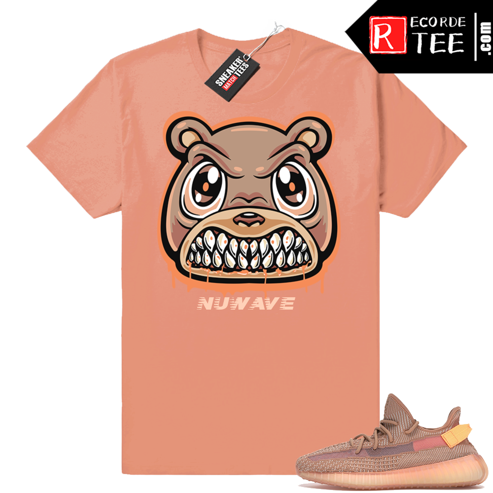 Yeezy 350 Clay | Angry Bear Drip | Clay Shirt