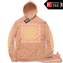 Load image into Gallery viewer, Yeezy 350 Clay | NuWave Checkered | Light Clay Hoodie
