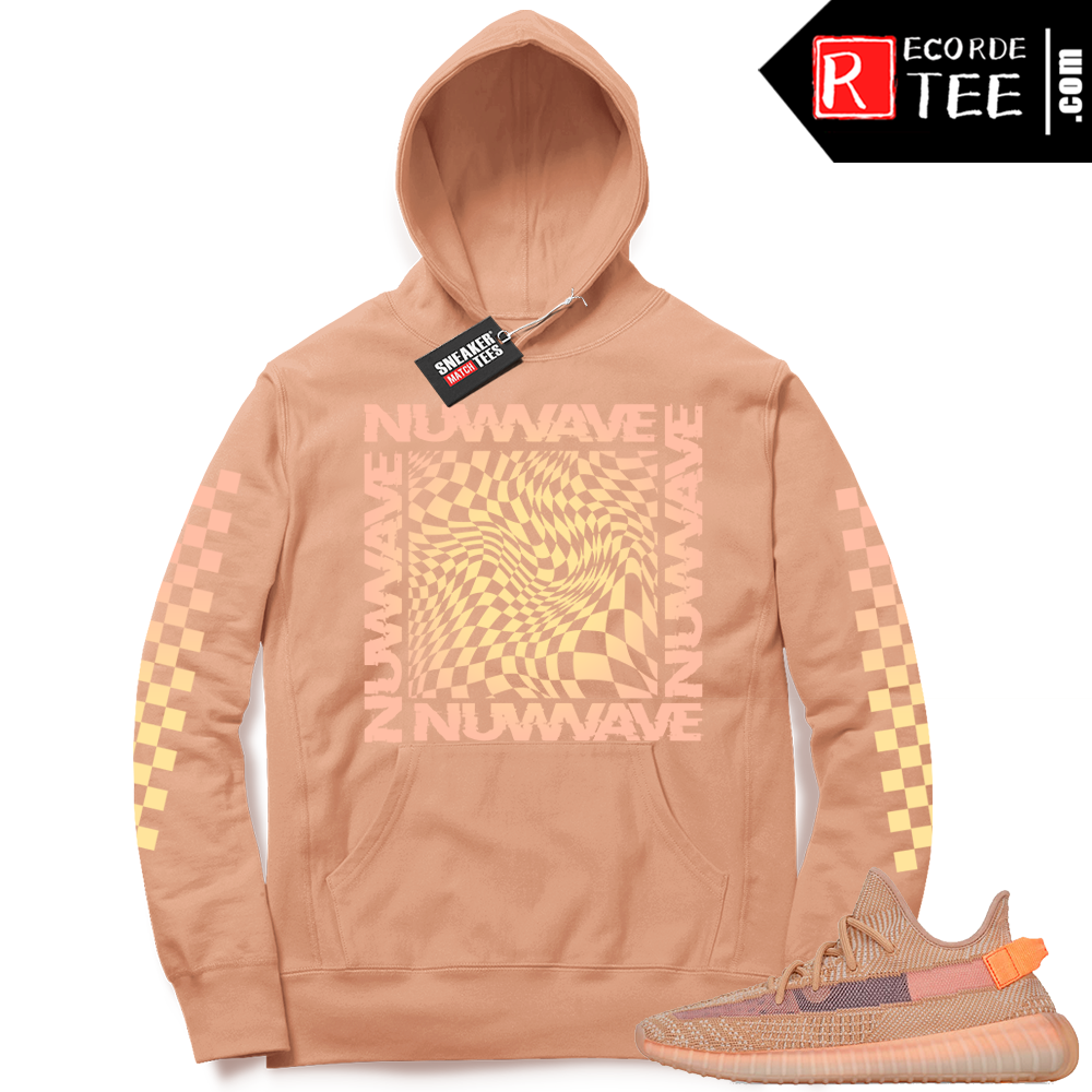Yeezy 350 Clay | NuWave Checkered | Light Clay Hoodie