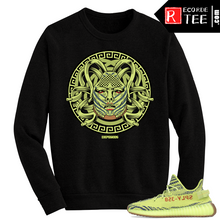 Load image into Gallery viewer, Yeezy Boost 350 V2 Semi Frozen Yellow Crewneck Dxpe Medusa