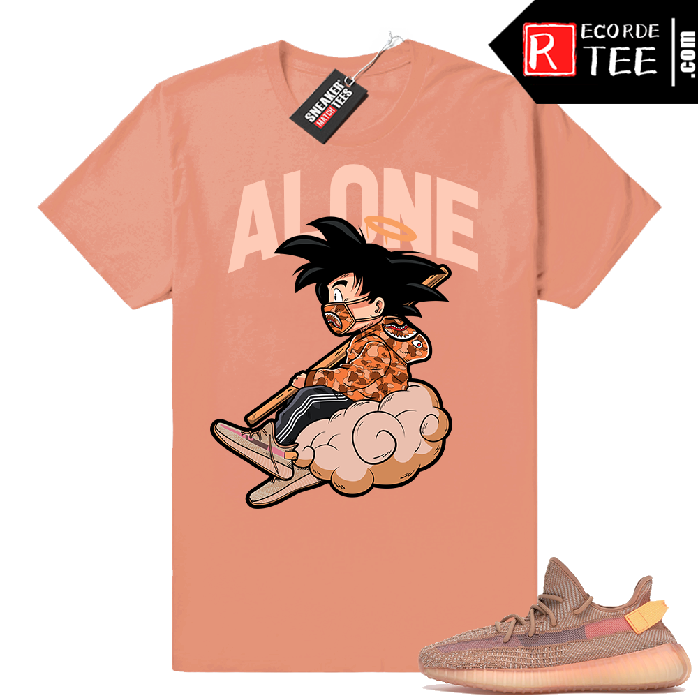 Yeezy 350 Clay | ALONE | Clay Shirt