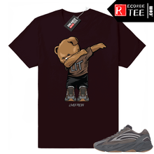 Load image into Gallery viewer, Yeezy 700 V2 Geode | Dabbin Bear | Dark Burgundy Shirt