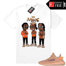 Load image into Gallery viewer, Yeezy 350 Clay | The Migos | White shirt