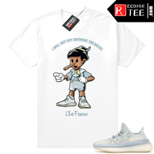 Load image into Gallery viewer, Yeezy Cloud White | Sneakerhead Pinocchio | White Shirt