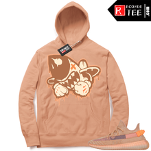 Load image into Gallery viewer, Yeezy 350 Clay | Bruiser Logo | Light Clay Hoodie