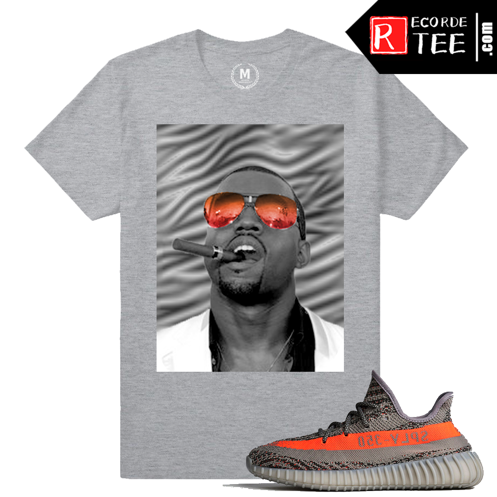 Yeezy Boost 350 V2 Beluga Match | The Good Life | Heather Grey T shirt