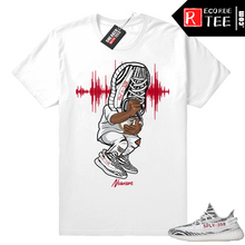 Load image into Gallery viewer, Yeezy Zebra shirt – Yeezy Sneakerhead – White T shirt