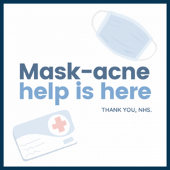 LUSTRE ClearSkin, acne treatment, blue light, NHS, Covid-19