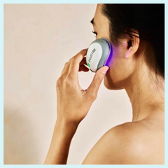 LUSTRE ClearSkin, maskne, acne, blog, blue light therapy