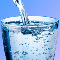 Dehydrated skin and acne, optimum daily water intake