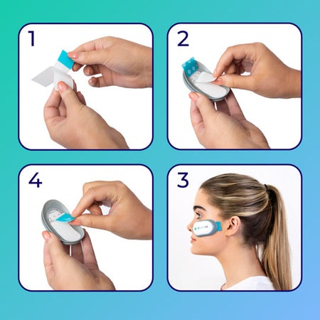 How to use the LUSTRE ClearSkin devices in four steps