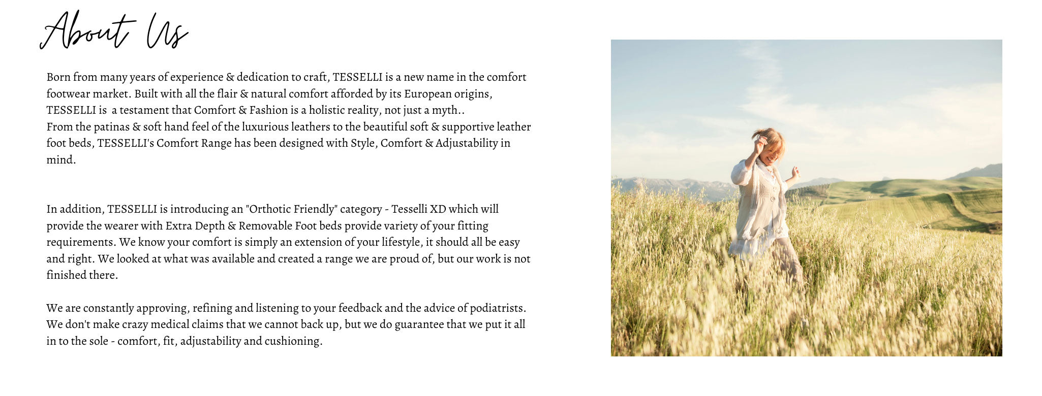 About Tesselli Womens Comfort Shoes