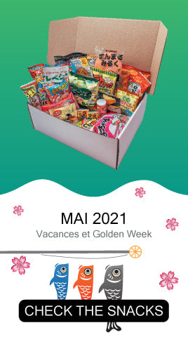 Check the snacks from May 2021's Tokyo Snack Box