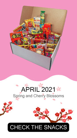 Check the snacks from April 2021's Tokyo Snack Box