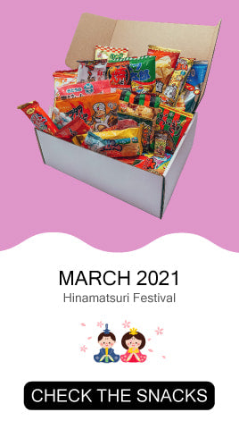 Check the snacks from March 2021's Tokyo Snack Box