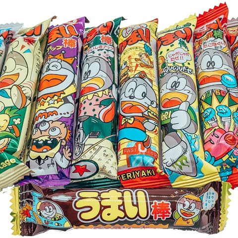 The Umaibox from Tokyo Snack Box contains all the best Umaibo, the most popular Japanese snacks