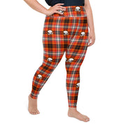 Skull Plaid Leggings