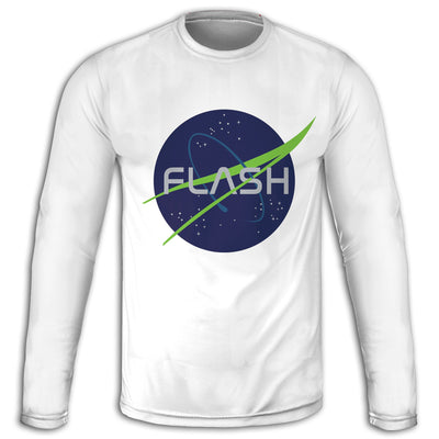 Into Space Long Sleeve Tee | flashgordonshop.com