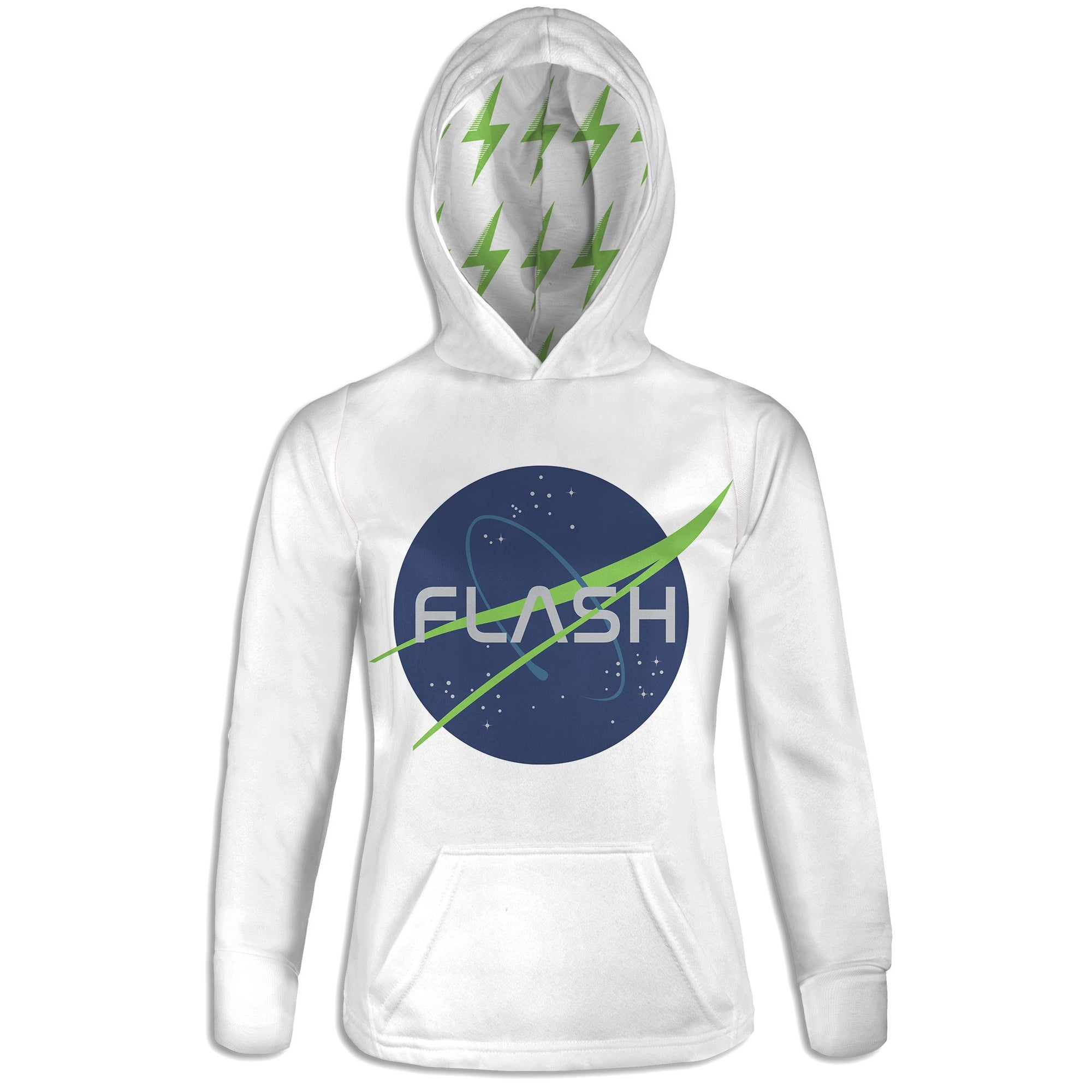 Into Space Womens Hoodie | flashgordonshop.com