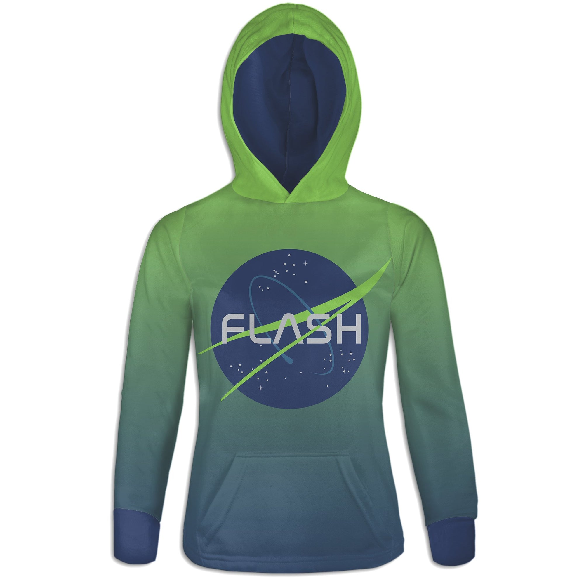 Lift Off Womens Hoodie | flashgordonshop.com