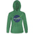 Space Green Womens Hoodie | flashgordonshop.com