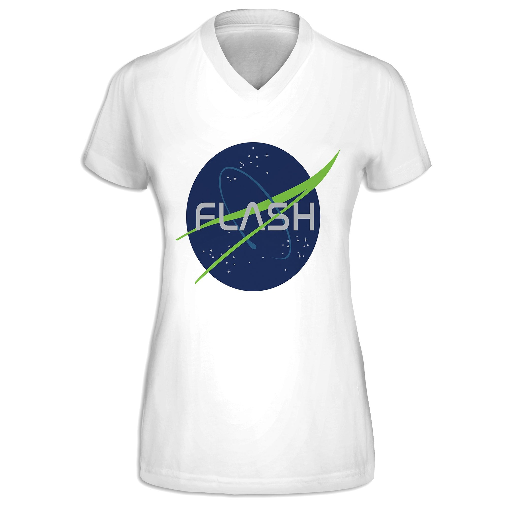 Flash Womens V-Neck Tee | flashgordonshop.com