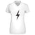 Bolt Womens V-Neck Tee | flashgordonshop.com
