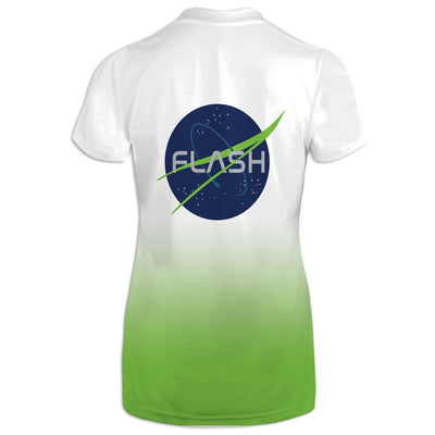Lift Off Womens V-Neck Tee | flashgordonshop.com