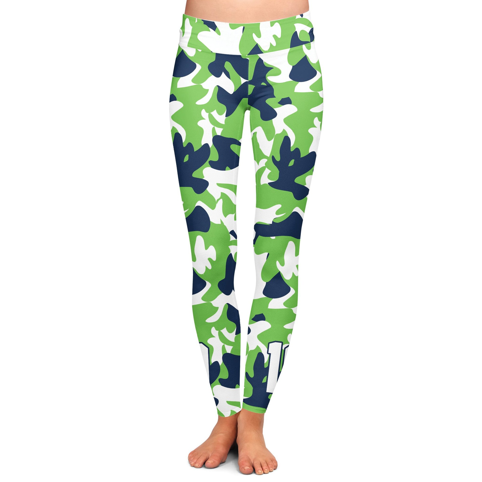 Flash Camo Green Yoga Pants | flashgordonshop.com