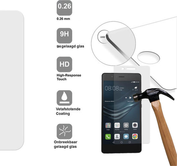 Huawei Screenprotector |Tempered glass | Bescherm Glas folie | Gehard glass