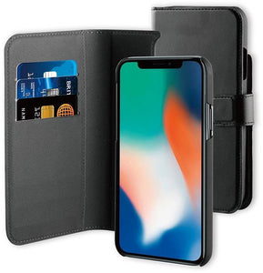 iPhone 11 Pro  2-in-1 Wallet Case Black BeHello
