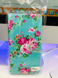 iPhone 11 Pro Max hoesje Bloemen Print mapje- Wallet Case beautiful flower