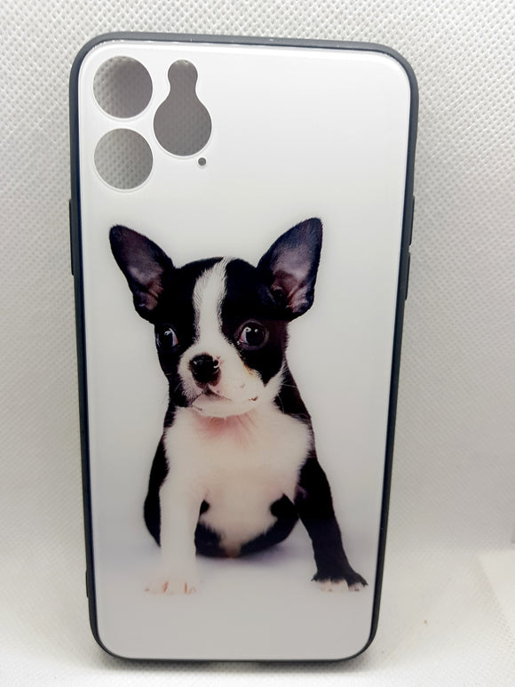 iPhone 11 Pro Max hoesje hond print fashion design hard case