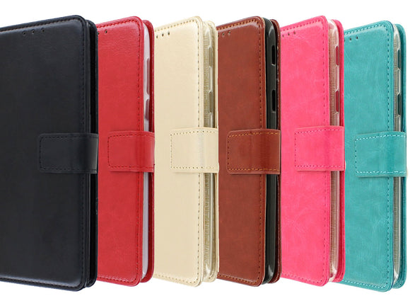 Motorola One Action Bookcase Mapje - hoesje - Wallet Case