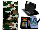 Nokia 6.2/ 7.2  hoesje leger print - army militair - Wallet print case