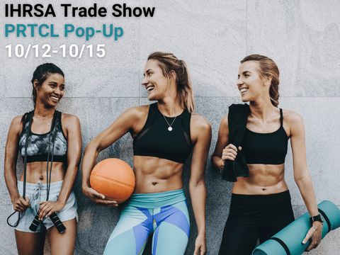 IHRSA Trade Show Event in Dallas, Texas - PRTCL Products