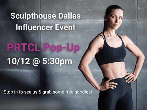 PRTCL Products will be at Sculpthouse Dallas Influencer Event in Texas